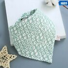 Infant Baby Boy Girl Cotton Bandana Bibs Feed Saliva Towel  Dribble Triangle