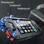 Waterproof Aluminum Metal GORILLA Glass Military Armor Shockproof Cover Case