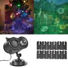 2 in 1 Christmas Projector Light Waterproof Outdoor Indoor Landscape Decor Lamp