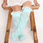 New Fashion Baby Toddler Kids Lace Long Legging Lace Warmers Socks