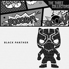 Black Panther Funko Pop Inspired Vinyl Decal Window Laptop Truck Car