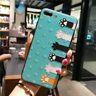 Sprint Phone Case iPhone 8 Plus Cute Cartoon Animals Pattern TPU PC Back Cover