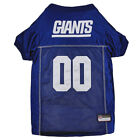 New York Giants NFL Pets First Licensed Dog Embroidered Pet Jersey XS-L $41.35 USD on eBay