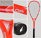Racket squash professional aluminum carbon fiber material sport carry bag
