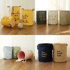 Super Large Laundry Bag Cotton Dirty Clothes Basket Kids Standing Toy Storage