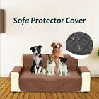 Reversible Microfiber Sofa Cover Chair Throw Pet Dog Kids Furniture Protector US