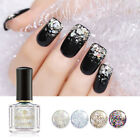 BORN PRETTY Holographic Glitter Nail Art Polish Shimmer Sequins Nails Tools 6ml