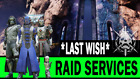 Last Wish Full Raid + All Chests - Inc. Individual Checkpoint Completions (PS4)