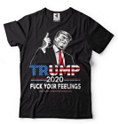 Donald Trump 2020 Re-election T-shirt Liberal Feelings republican Supporter Tee image