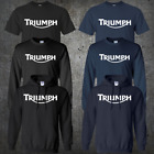 Triumph Motorcycles Logo Classic Retro Motorcycle T-shirt Hoodie Sweatshirt $19.0 USD on eBay