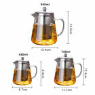 Heat+Resistan+Glass+Teapot+With+Infuser+Coffee+Tea+Leaf+Herbal+Pot+450%2F750%2F950ml
