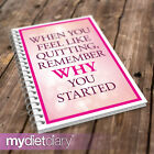 DIET FOOD DIARY - Feel Like Quitting (G013W) 12wk diet diary slimming tracker