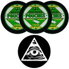 Oregon Mint Snuff- Mint Pouch-Tobacco & Nicotine Free with DC Chew/Dip Skin 3 ct