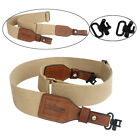 Tourbon Hunting Webbing Rifle/Shotgun Slings Belt Gun Mounted Swivels ShootingSlings & Swivels - 73977