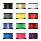 3D Printer Filament 1.75mm ABS PLA PETG 1kg 2.2lb MultiColor MakerBot RepRap MA