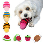 Pet Dog Teeth Interactive Resistant Toy Chew Squeaker Play Toys Dental Bite Ring