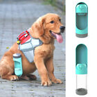 Portable Dog Water Bottle Leak Proof Puppy Water Dispenser with Feeder