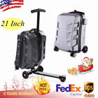 21'' Scooter Suitcase | Trolley Scooter Luggage | Carry on Luggage | USA Stock