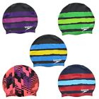 Speedo Swim Adult Mens Womens Racing Graphic Swimming Pool Head Cap $6.99 USD on eBay