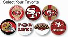 "San Francisco 49ers NFL Pin Pinback Button 1 .25"" Collectible Sports Hat Bag Art"