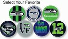 Seattle Seahawks NFL Pin Pinback Button 1 .25