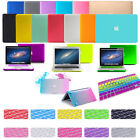 """New Rubberized Laptop Hard Case Keyboard Screen Cover for MacBook Pro Air 13"""" 15"""