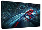 THE AMAZING SPIDERMAN (FRAMED) CANVAS ART HD PRINT, FREE Shipping! MARVEL COMICS