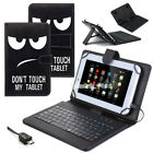 "US For Samsung Galaxy Tab E 9.6 / 8.0"" Tablet Case Stand Cover with USB Keyboard"