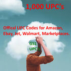 10,000 UPC Numbers UPC Barcodes UPC Bar Code EAN Number Labels for Amazon US UK