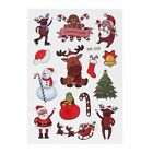 Temporary Christmas Tattoo Body Art Sticker Kids Body Paste Paper Festival Gift