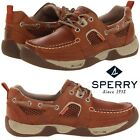 Sperry Top-Sider Sea Kite Sport Moc Men's Boat Shoes Water-Resistant WIDE
