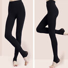 Women Winter Thermal Thick Warm Fleece lined Stretch Pants Skinny Slim Leggings