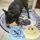 Pet Electric Toy Dog Cat Automatic Plush Ball Activation Chew Floor Clean Toys