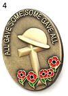 New Large Red Enamel  Pin Brooch Badge Poppy.