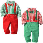 Внешний вид - Baby Toddler Boy Christmas Holiday Party Suit Fancy Dress Up Xmas Costume Outfit
