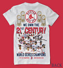 2018 Champions Boston Red Sox front/back shirt 25 players-WE OWN 21 CENTURY LOOK on Ebay