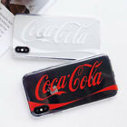 TPU Coca Cola Silicone Clear Crystal Case Cover For iPhone X 8 7 6/6s Plus Cool $2.45  on eBay