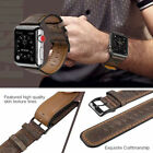 40/44mm Retro Genuine Leather iWatch Band Strap for Apple Watch Series 5 4 3 2 1 image