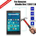 Tempered Glass Screen Protector Cover Film For Amazon Kindle fire 7 HD 8 Tablet