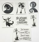 Nightmare Before Christmas Gloss Vinyl Decal Crafts Wine Glass Bottle Laptop