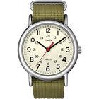 Timex Weekender | Nylon Slip-Thru Strap White Dial | Casual Unisex Watch <br/> Official eBay Store for Timex, USA