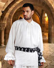 Renaissance  Medieval John Cook Shirt Made OF Thick & Rich Viscose fabric