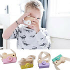 Внешний вид - Wooden Camera Kids Toy Baby Gift Children Wood Neck Decor Photography Xmas