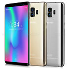 "16gb 5.7"" Android 7.0 Unlocked 4g Mobile Smart Phone Dual Sim 4core Face Id 8mp"