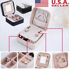 Kyпить Mini Faux Leather Travel Jewelry Box Easy Portable Gift Storage Organizer Case на еВаy.соm