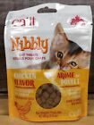 Catit Nibbly CAT TREATS 3.2 oz Chicken Liver Salmon FREE SHIPPING