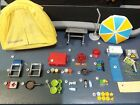 Playmobil Camping Tent Food Umbrella Chairs Table