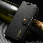 For iPhone 8/7/6s Plus Leather Wallet Magnetic Removable Flip Cover Card Case