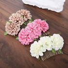 Fashion Ladies Bridal Wedding Flower Hair Comb Pin Combs Party Hair Accessories