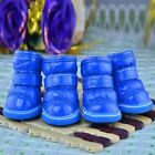 Dog Winter Boots Puppy Snow Shoes Warm Waterproof Easy Clean Solid Feet Rain Pet